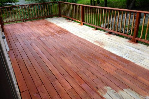 Deck Staining Services in westchester and Fairfield county