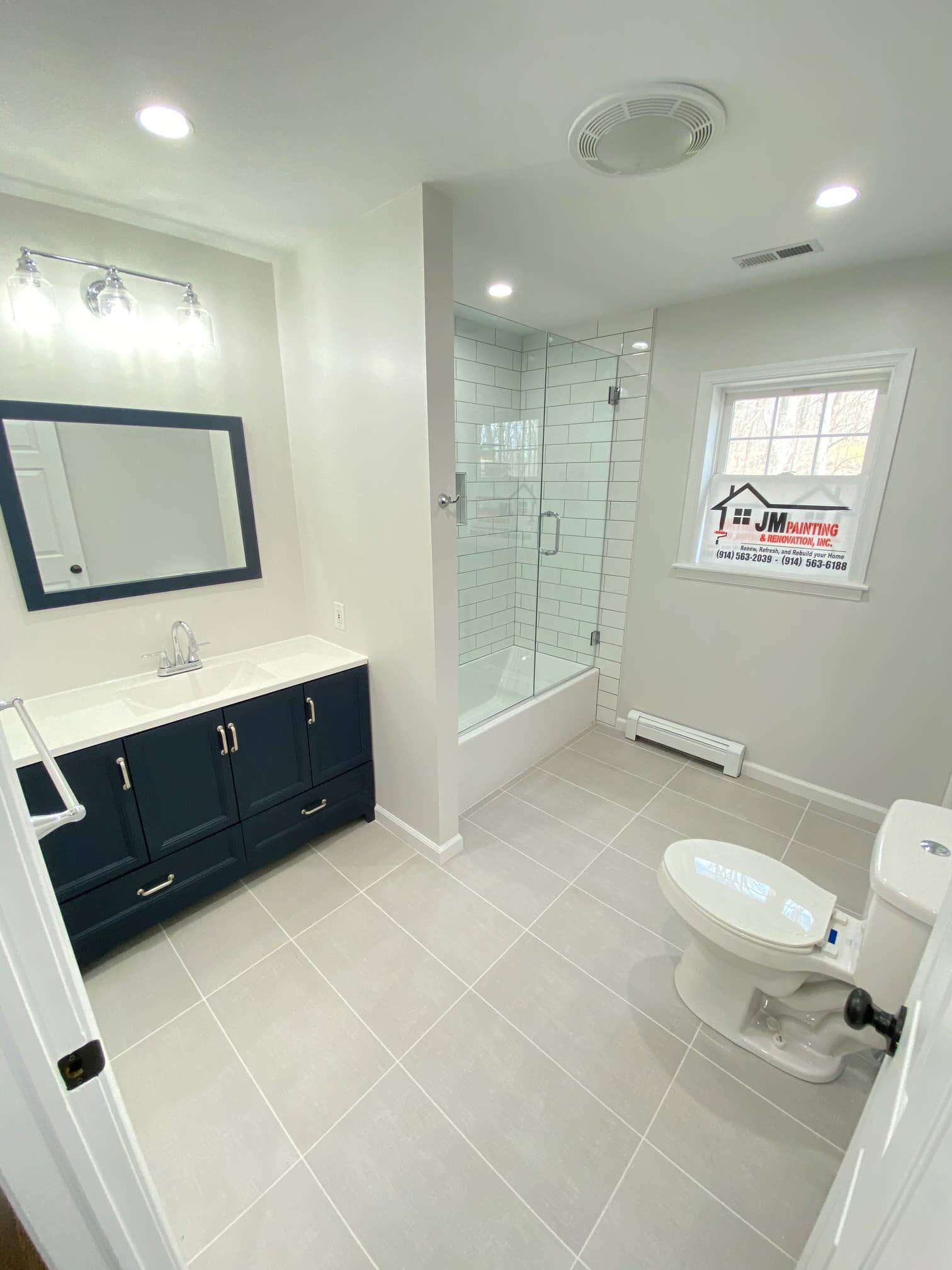 Bathrooms renovation